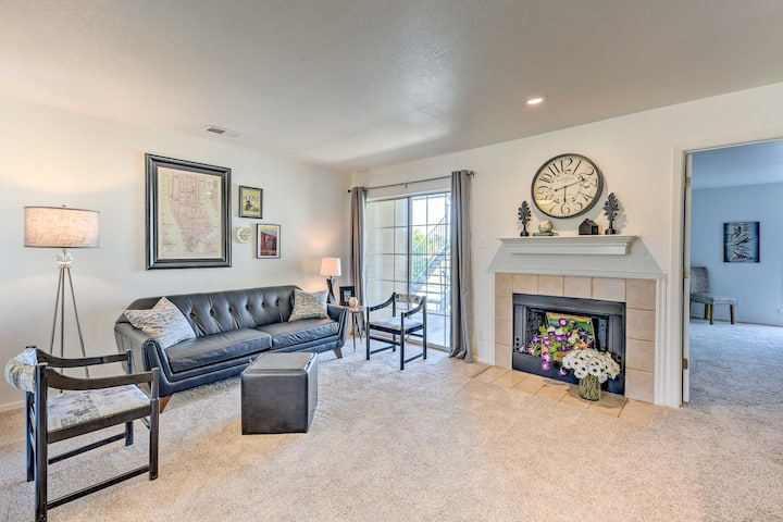 Country-Chic Condo, Walk to ACU, Golf, & Dining!