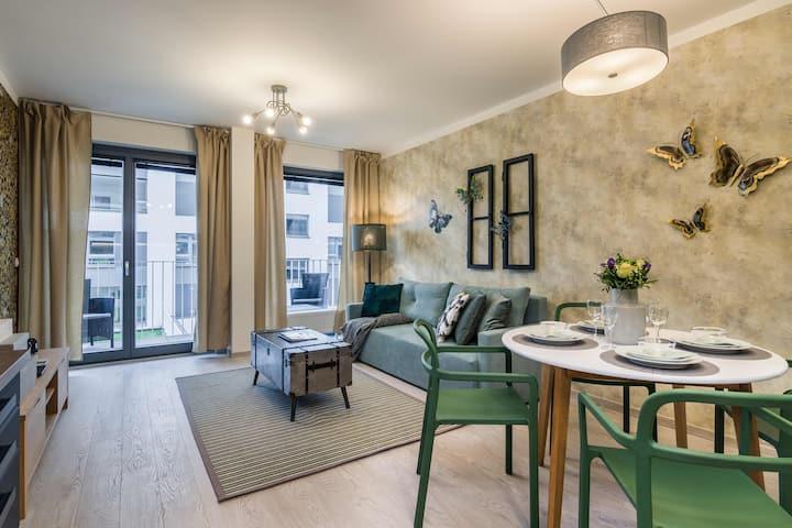 Prague Luxury APT 1 PARKING by Michal&Friends