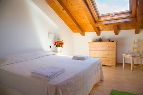 Lejlighed med 5 sengepladser