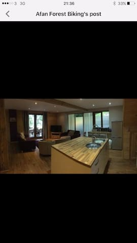 Afan forest cabin - Cwmafon - Apartment