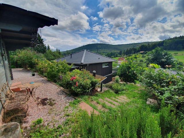 Ferienhaus bei Miltenberg mit schöner Aussicht