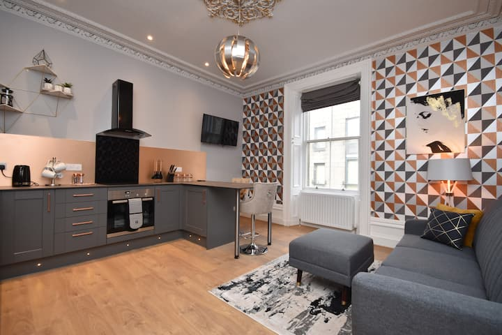 Serviced apartments in Fraserburgh town centre