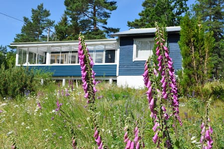 Cozy Summer lake cottage with views! - Lidköping - Huis