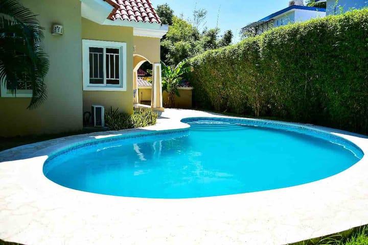 3 bedrs/2 baths Villa in Sosua, Guest friendly