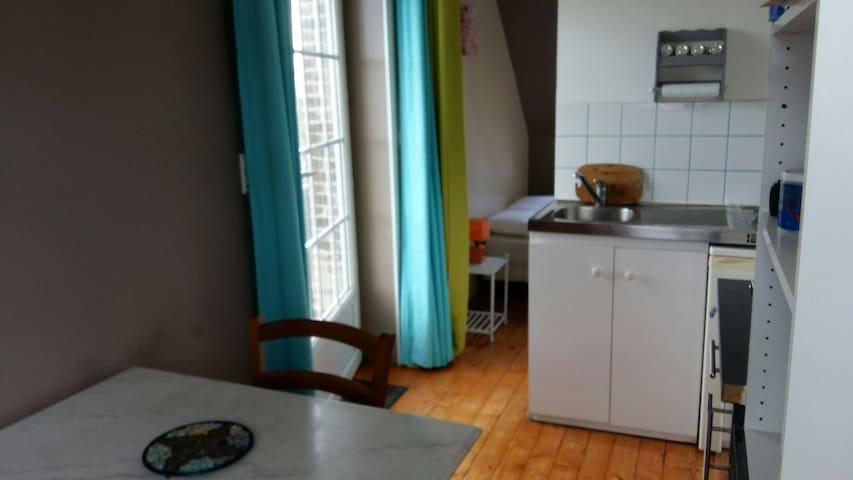 Studio meublé proche zi - La Cerlangue - Huoneisto