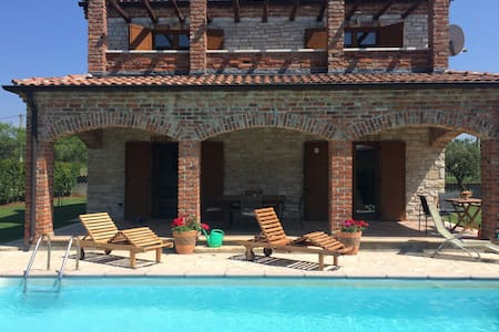 Villa, Pool, Tennis near Beaches. - Paradiz, Near Juršići