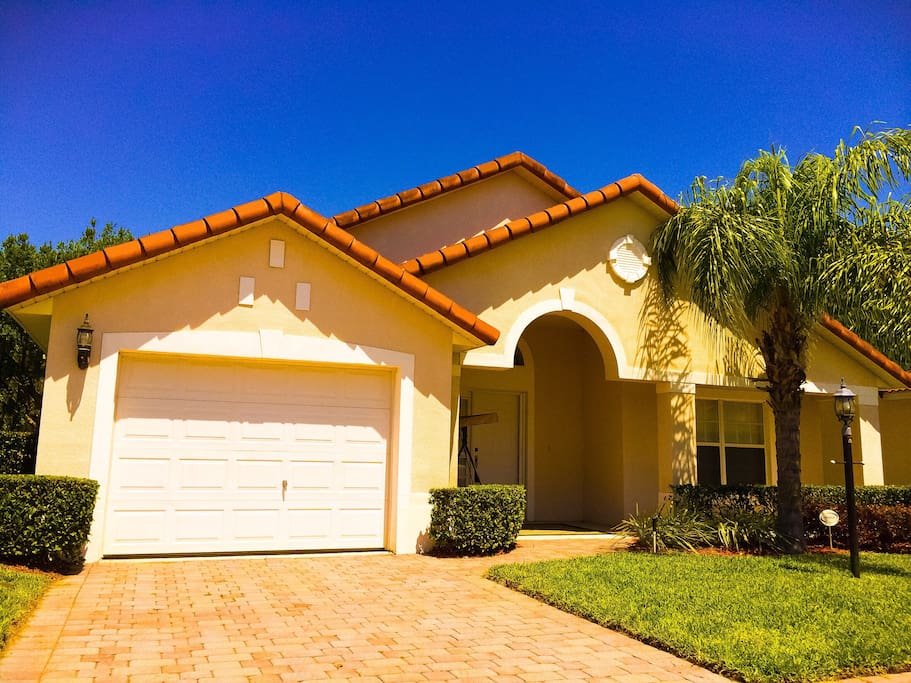 Disney World Area Villa Orlando 4 Beds Pool Houses For Rent In Davenport Florida