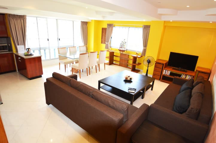 4 beds Ocean View 300 meter from beach (8 person)