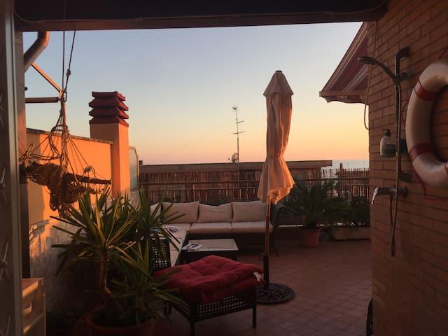Terrazza sul mare - terrace on the sea