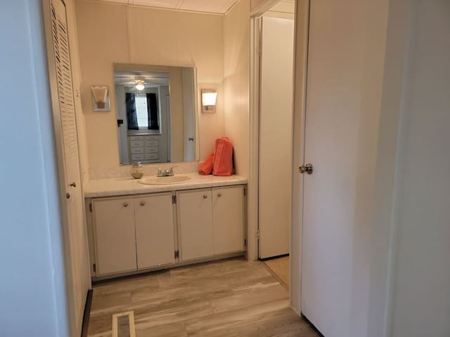 Entry from your master bedroom to the master bathroom