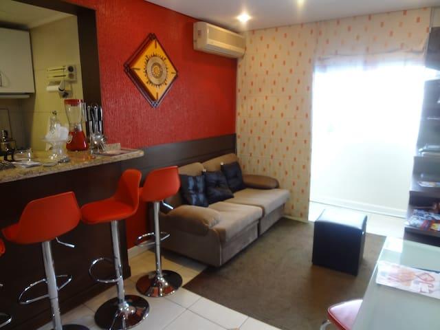 Apart Hotel Flat - inteiro -camareira garagem - Porto Alegre