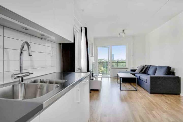 Lägenhet med fantasisktt utsikt