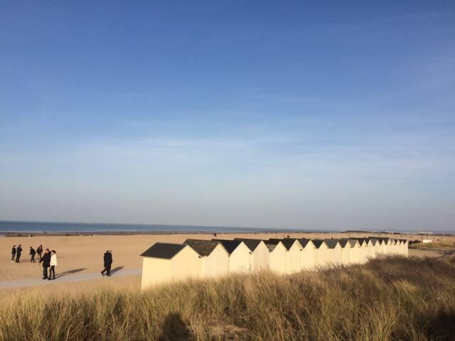 Appt5 pers 5 mn de la mer sword beach hyper centre