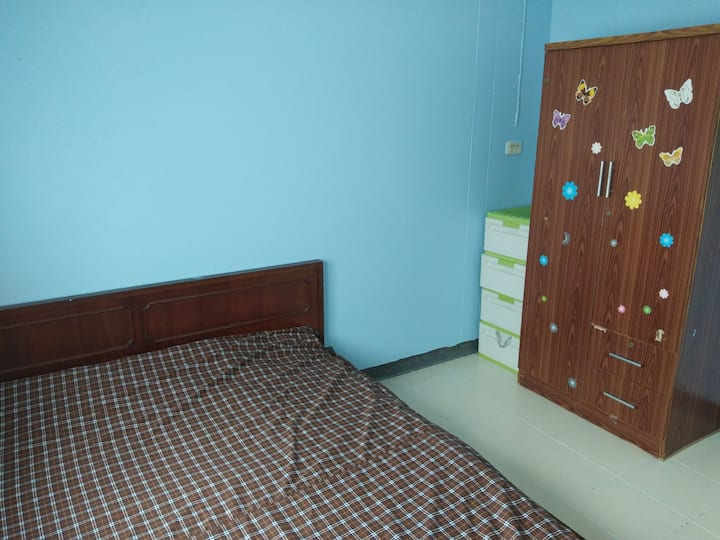 บ้านเอื้ออาทรคู้บอน ปรับปรุงใหม่ สะอาด ปลอดภัย