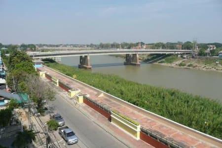 New building with the river view - Sing Buri - Apartamento