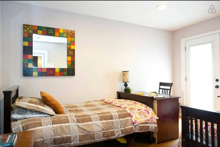 *2 Twin Beds with Beach Nearby (R1)