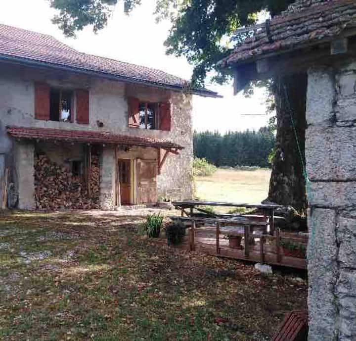 Ferme des Tilleuls , Haut-Jura, Gite 4/5 personnes