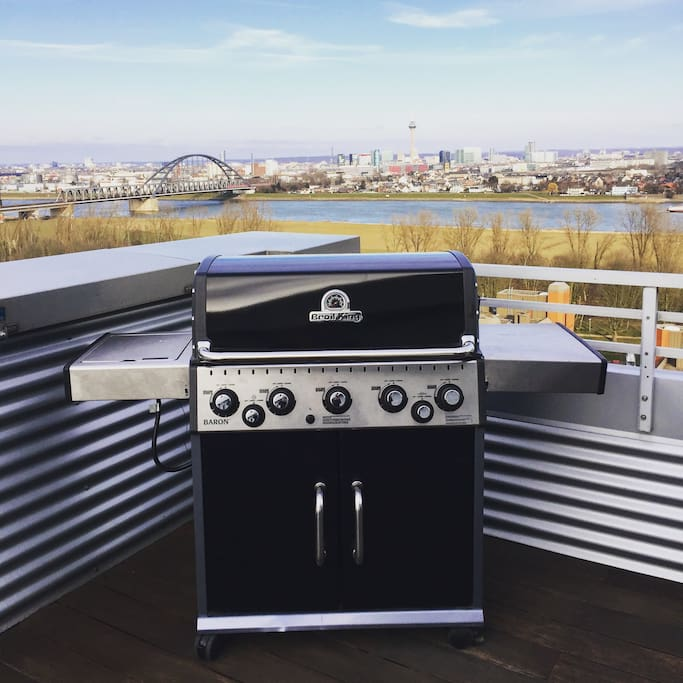 Our barbecue Broil King Baron 590
