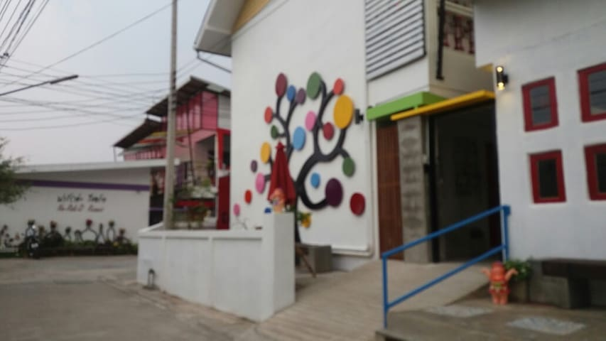 Econimic Twin Bed room - Mueang Chiang Rai - Apartament