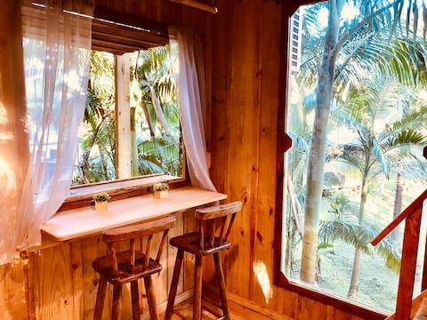 Casa da Árvore estilo Tiny House! Morretes - Pr