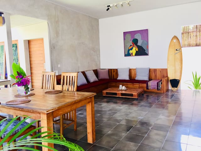 Little BALI CLIFF villa/cozy 2BR*sea*sun*surf*