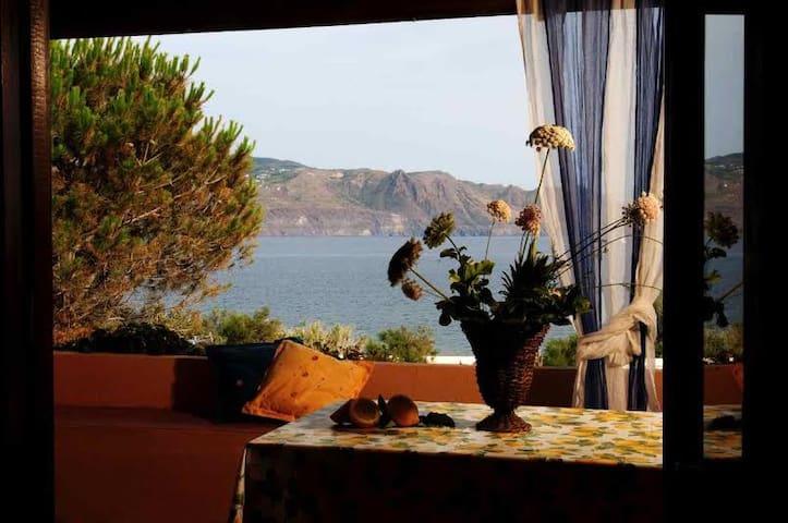 Private apartment 30 meters from sea - Santa Marina Salina - Pis