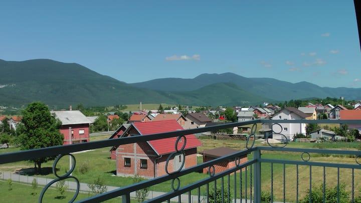 Aračić-Apartmen,1 bedroom, near the Plitvice,AC