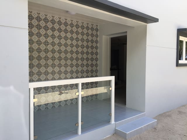 Doorway to Castillo Suite (Main Entrance to Home)