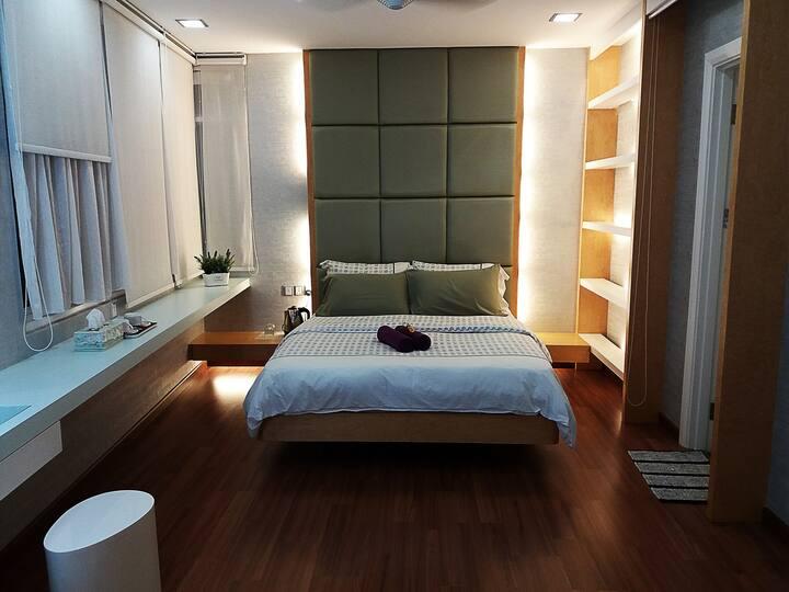 Penang Inn VIP Villa - Family Rooms 2 in 1