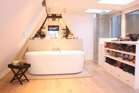 Modern apartment in a 17th century canal house - Amsterdam - Apartment