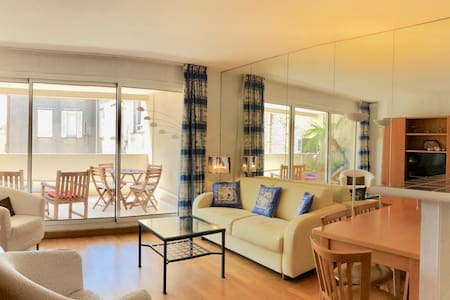 Rue d'Antibes - 1Bdr & Terrace 5 minutes to the Palais