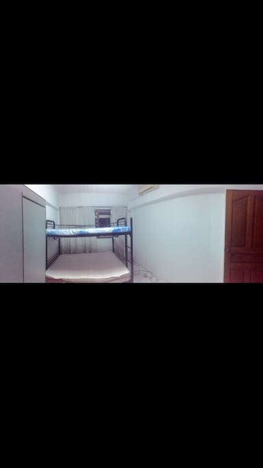 Fully fitted spacious room for family holiday