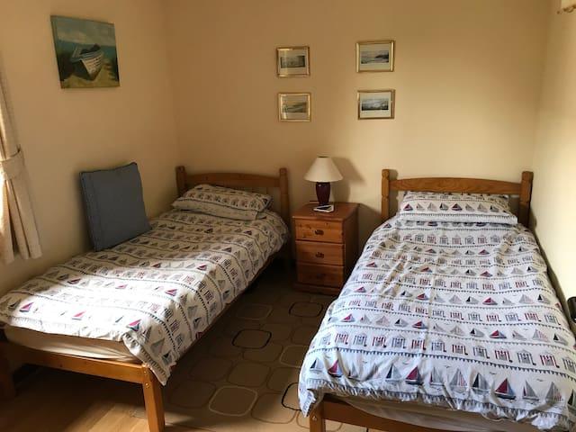 Second Bedroom  2 Single Beds