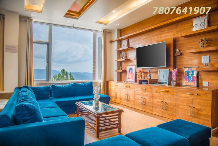 3 Bedroom | Living area | Himalayan View