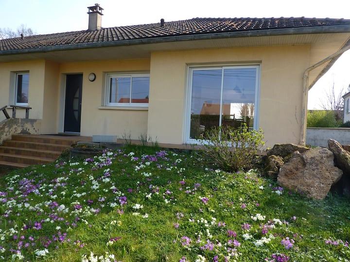 Maison individuelle 100 m2 plein pied avec jardin