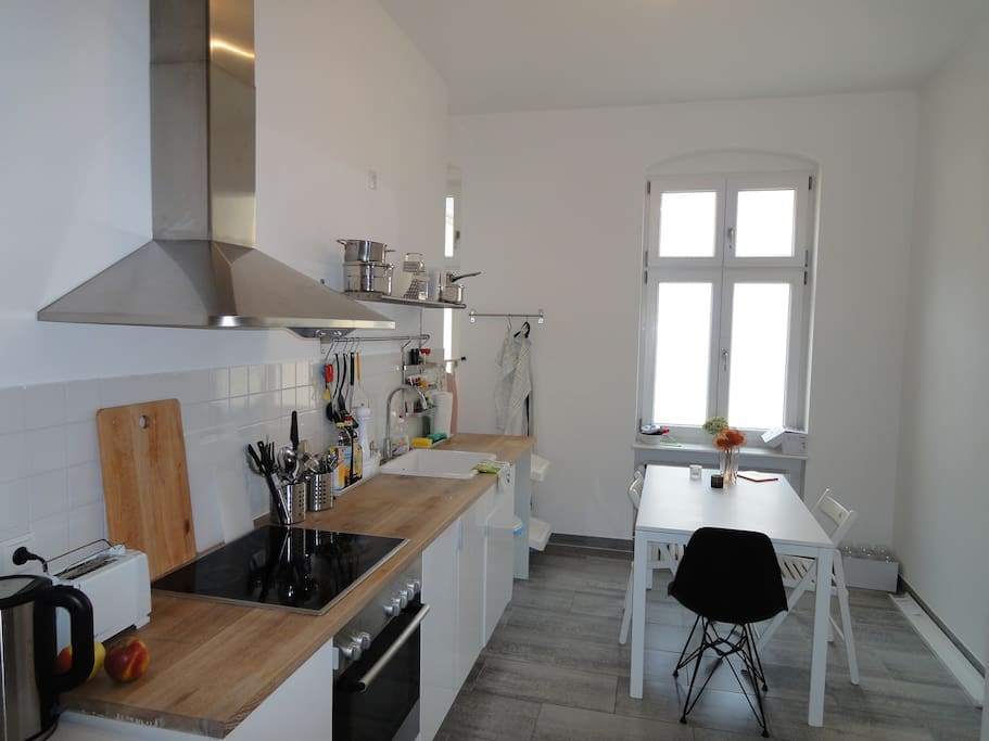 Shared kitchen. Fully equipped