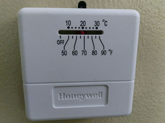 You control your heat and A/C