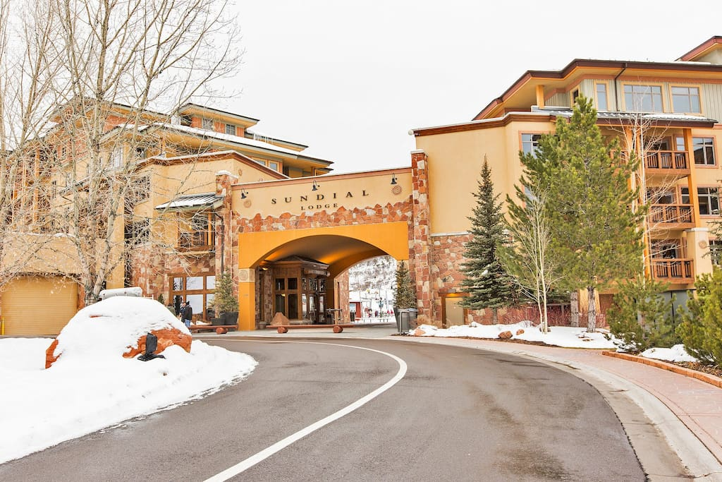 """Sundial Lodge was Voted """"2016-Best in the West"""" by Conde Naste."""