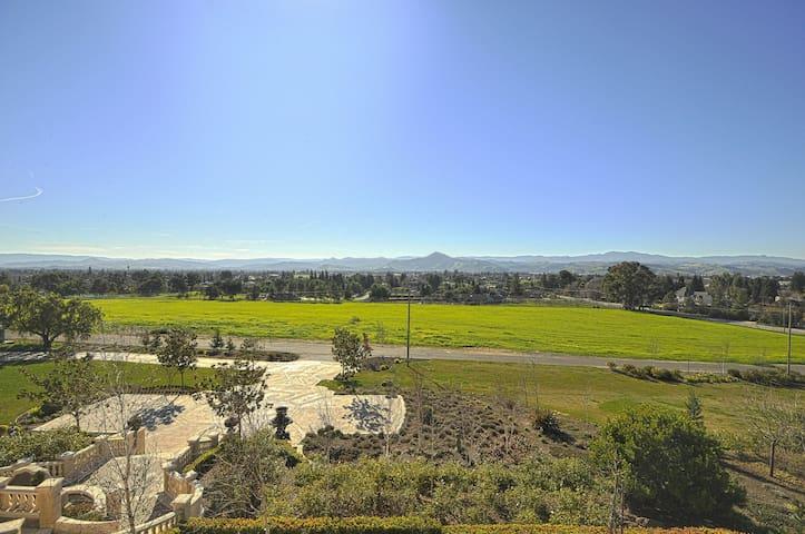 Stunning South Bay Vineyard Villa - Morgan Hill - Villa