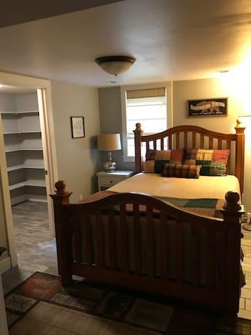 Bedroom 2 & Walk-in Closet