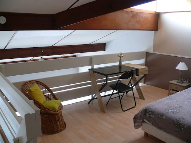 Appartement duplex en plein centre ville - Biscarrosse - Huoneisto