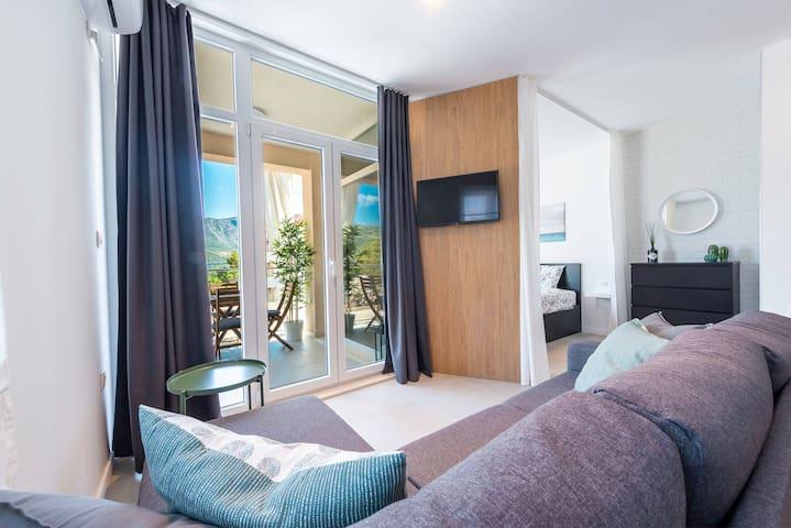 Apartment Diverti - New Cozy Studio Apartment