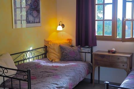 Pinienwald, Ruhe, Aussicht + Natur - Sabran - Bed & Breakfast