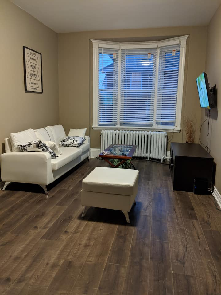 Quaint private basement room near UWO