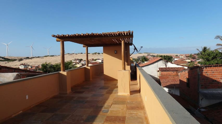 Tolles Appartment in Canoa mit bester Aussicht - Canoa Quebrada - Byt