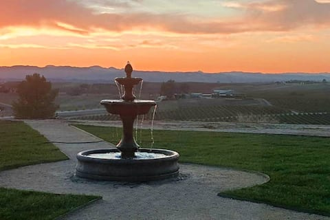Fountains and sunsets, we can't get enough