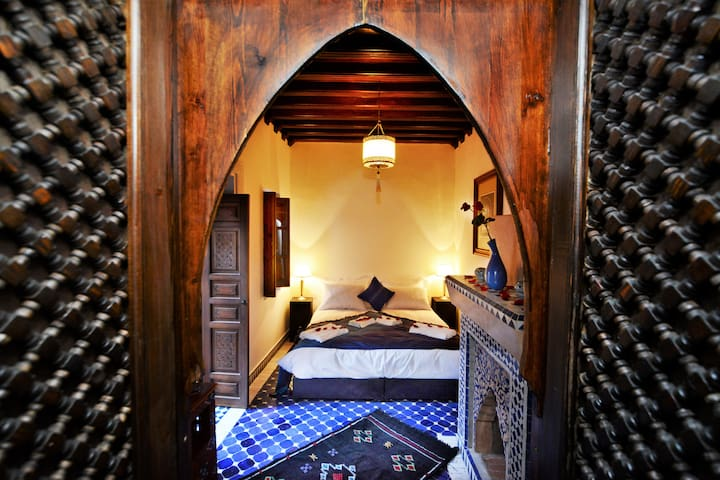 Lovely Riad in Medina, Bab Jdid - Marrakesh - Dům
