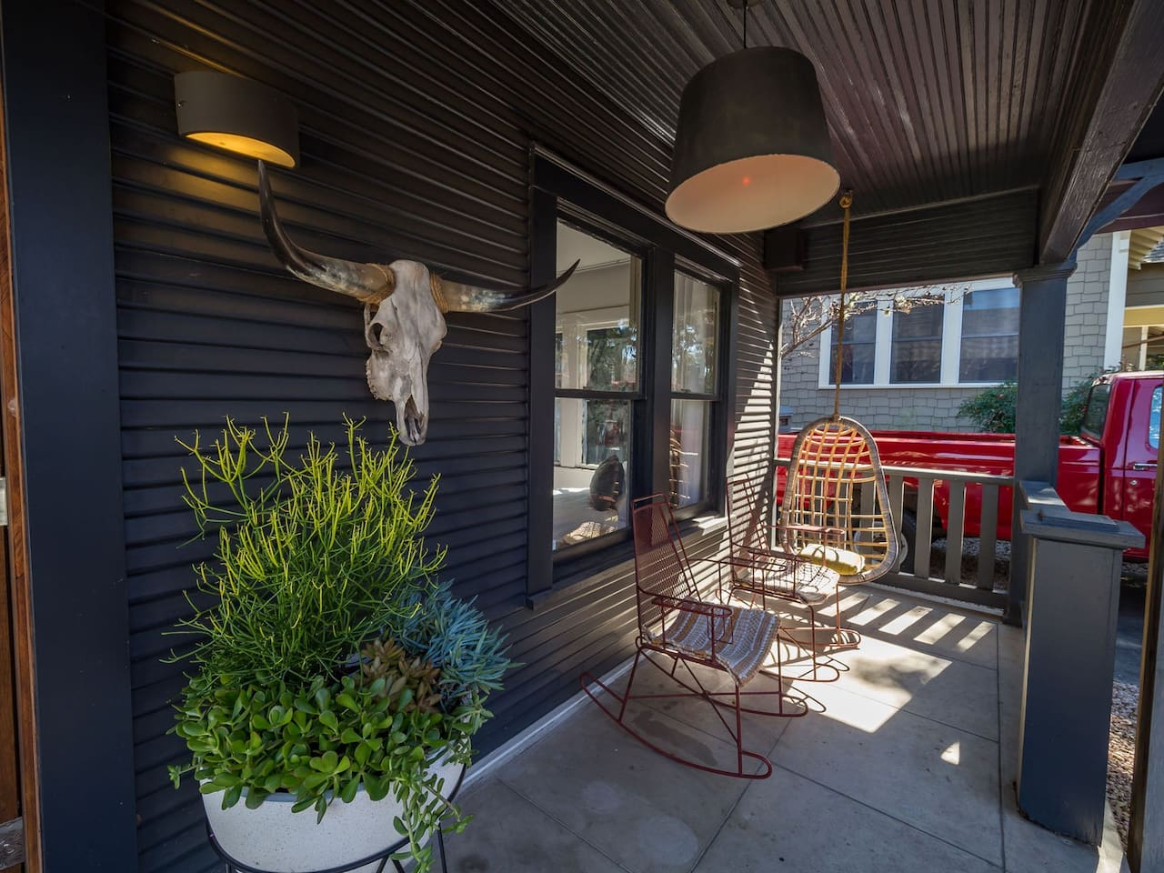 Hang Out On This Stylish Front Porch