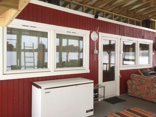 Apartment,many facilities Seida/Tana. OutdoorSauna