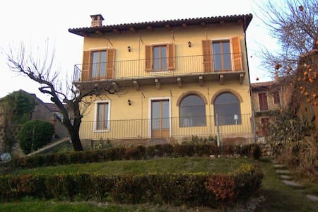 Albaluna, a cottage on Langhe hills - Govone - Casa